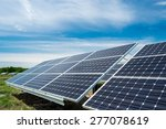 photovoltaic panels  ...   Shutterstock . vector #277078619
