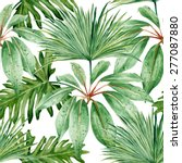 Tropical Leaves  Palm  Dense...
