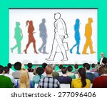 individually different decision ... | Shutterstock . vector #277096406