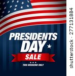 presidents day sale | Shutterstock .eps vector #277131884