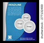 vector flyer  magazine cover  ... | Shutterstock .eps vector #277132400