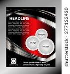 background flyer  | Shutterstock .eps vector #277132430