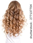curly hair | Shutterstock . vector #277137704
