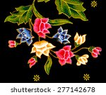 the beautiful of art malaysian... | Shutterstock . vector #277142678