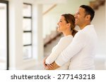 happy couple in new home | Shutterstock . vector #277143218