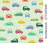 car pattern. vector illustration | Shutterstock .eps vector #277147640