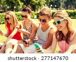 friendship  leisure  summer ... | Shutterstock . vector #277147670