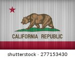 california flag pattern on the... | Shutterstock . vector #277153430