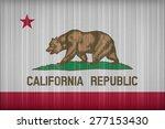 california flag pattern on the... | Shutterstock . vector #277153430