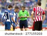 barcelona   april  12  referee... | Shutterstock . vector #277155203