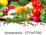 group of different vegetables...