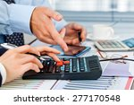 business accounting  | Shutterstock . vector #277170548