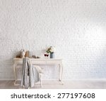 brick wall interior | Shutterstock . vector #277197608