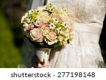 wedding bouquet | Shutterstock . vector #277198148