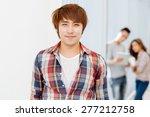 portrait of smiling vietnamese... | Shutterstock . vector #277212758