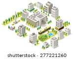Set Of The Isometric City...