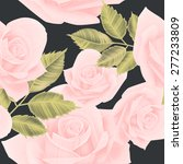 seamless floral pattern with... | Shutterstock . vector #277233809