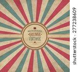 vintage frame with grunge...   Shutterstock .eps vector #277238609