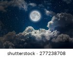 Backgrounds Night Sky With...