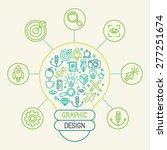vector graphic design concept...   Shutterstock .eps vector #277251674