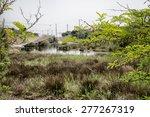 fishing huts on the pialassa...   Shutterstock . vector #277267319