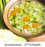 Plate Of Cabbage Soup....
