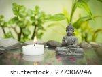 relaxing zen garden | Shutterstock . vector #277306946