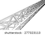 building 3d structure.... | Shutterstock .eps vector #277323113