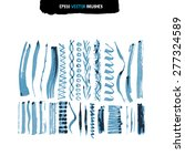 illustration vector set of... | Shutterstock .eps vector #277324589