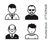 people avatar and user icons....   Shutterstock .eps vector #277329668