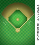 An Arial View Of A Baseball...