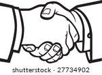 handshake   Shutterstock .eps vector #27734902