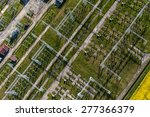 aerial image of electrical... | Shutterstock . vector #277366379