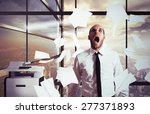 Businessman Stressed And...