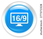 16   9 display icon | Shutterstock . vector #277372328