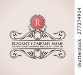 luxury logo sign and symbol.... | Shutterstock .eps vector #277374914