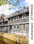 house in gorlar  lower saxony ... | Shutterstock . vector #277394420