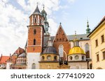 Wawel Cathedral In The Wawel...