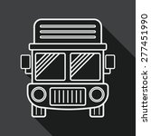 transportation truck flat icon... | Shutterstock .eps vector #277451990
