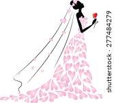 bride | Shutterstock .eps vector #277484279