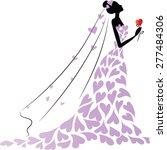 bride | Shutterstock .eps vector #277484306