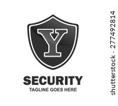 security letter y logo shield... | Shutterstock .eps vector #277492814