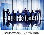 meeting seminar conference... | Shutterstock . vector #277494089