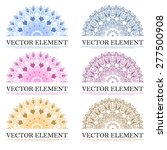 ornament design for company.... | Shutterstock .eps vector #277500908