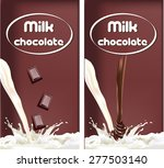 packaging the banner of dairy... | Shutterstock .eps vector #277503140