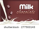 packaging the banner of dairy...   Shutterstock .eps vector #277503143