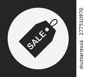 sale discount icon | Shutterstock .eps vector #277510970