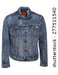 blue jeans jacket   Shutterstock . vector #277511540