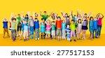 children kids childhood... | Shutterstock . vector #277517153