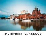 Embankment In Helsinki At...